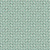 Makower UK - Super Bloom - 7120 - Sweet Pea on Dusty Blue Background - 9459B - Cotton Fabric